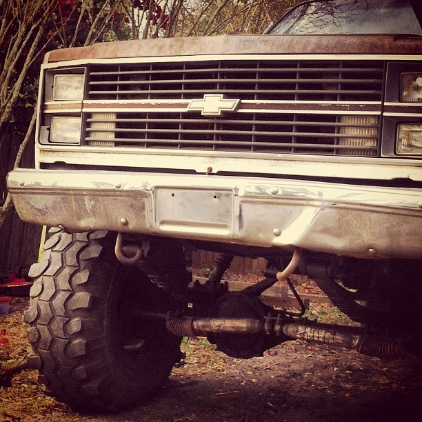Love for Chevy! #chevy #truck #lifted #old #love
