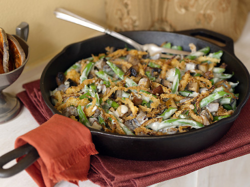 Recipe of the Day: Alton's Best-Ever Green Bean Casserole