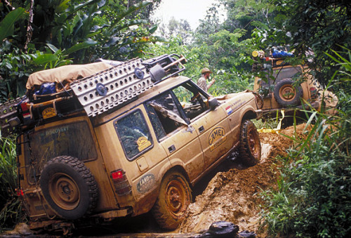 beautiful-avalanche:  1990 Camel Trophy