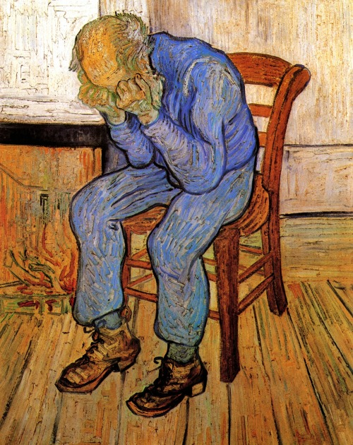 bizarrereverie:  Vincent van Gogh, Old Man in Sorrow (On the Threshold of Eternity) 1890