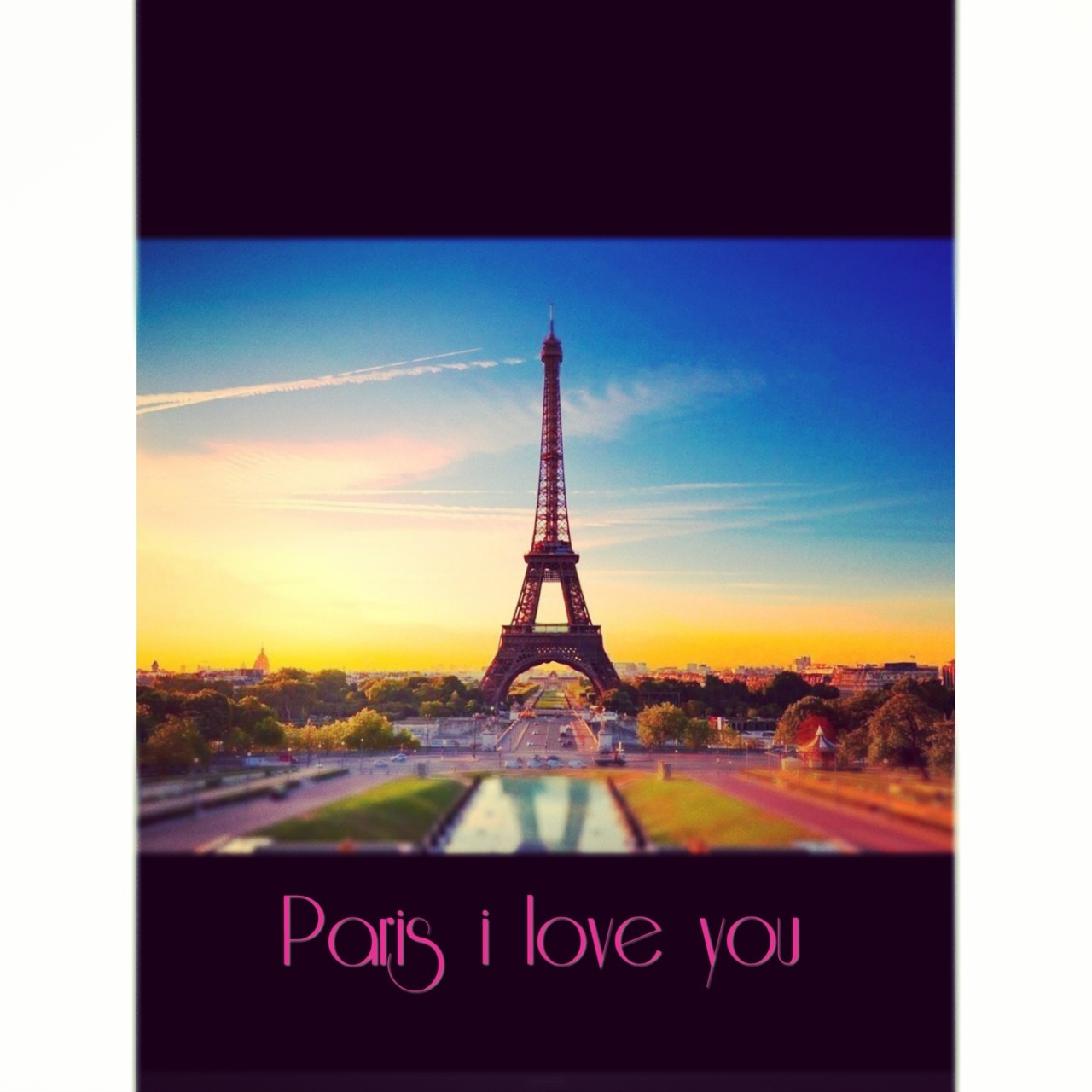 Paris I love you ❤