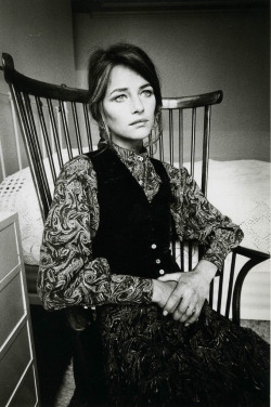 thecountryfucker:  Charlotte Rampling, 1970 Photograph by Jeanloup Sieff