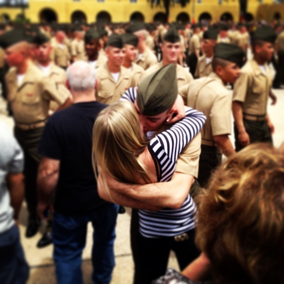 ikidyoun0t:  My man, my marine. The love of my life.