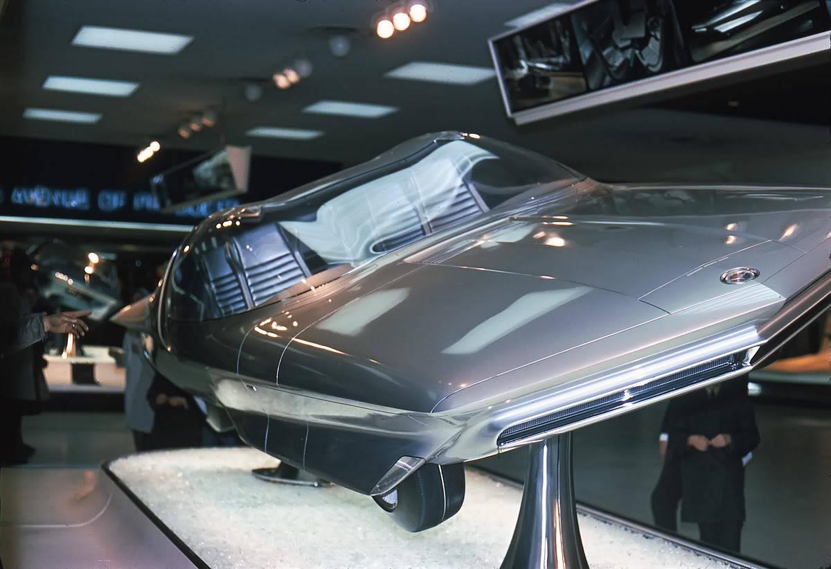 timewastingmachine:  1964 GM Firebird IV Concept