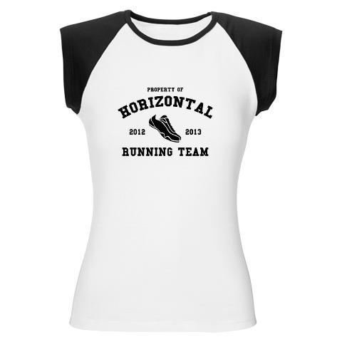Inspired by the movie Pitch Perfect. Horizontal Running Team shirt. See it at Movies Teez. #shirtoftheday
