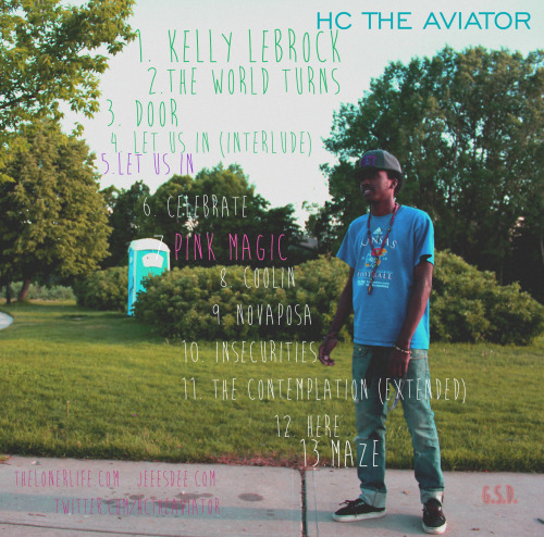 Coming Soon. HC, the Aviator's debut album Inspiration to my Dedication. Produced by Me an Malik Carter. Also a production from Downtown Music. Features from Cam Davis, Shimmy Raw & Tabari Carter. GSD. Swell Music.