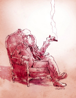 vallerand:  Freud with a Cigar