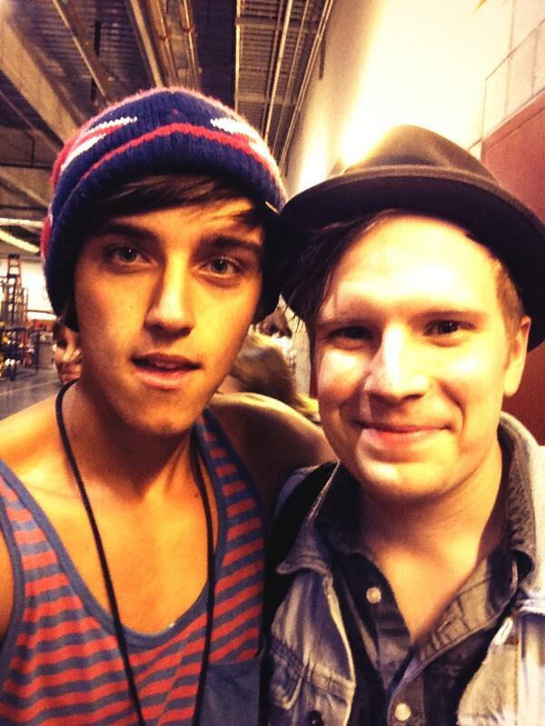 Fall Out Boy - @falloutboy your awesome bro! Really nice meeting you at wango :)