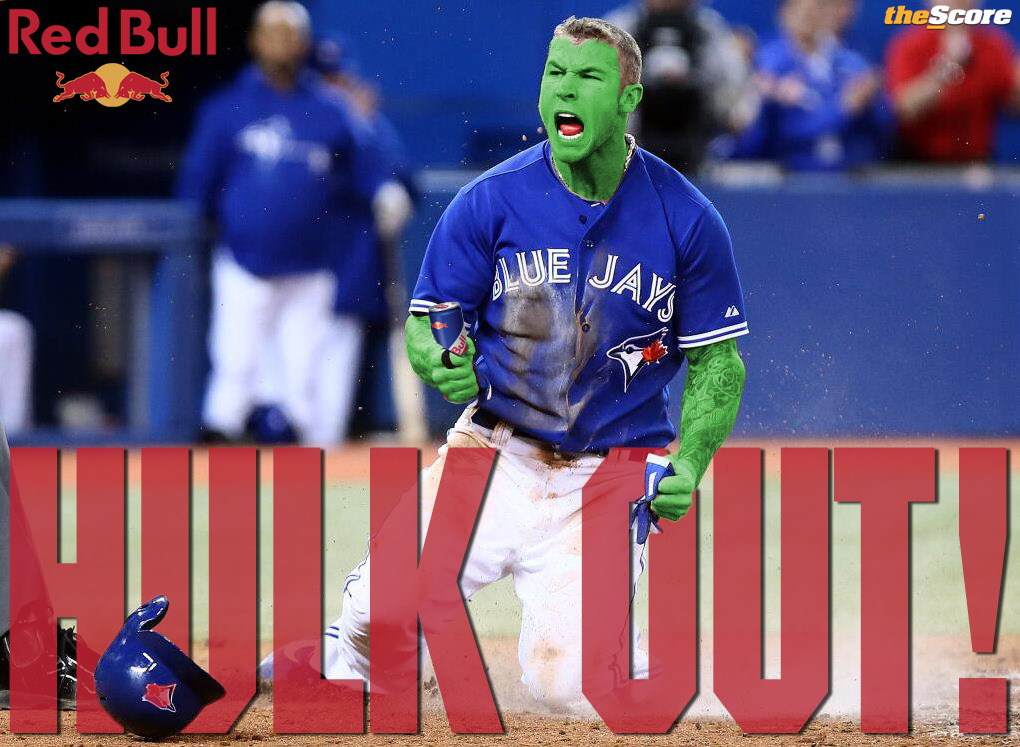 Check out @BLawrie13's latest poster. #HulkOut #BlueJays