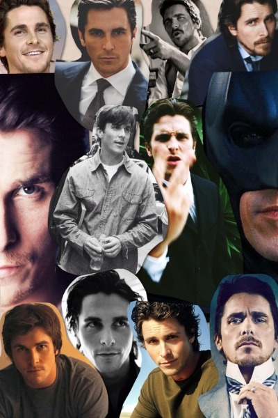 okeydokeydoggydaddyy:  tamjam:  Christian Bale collage courtesy of me WOO  its about damn time