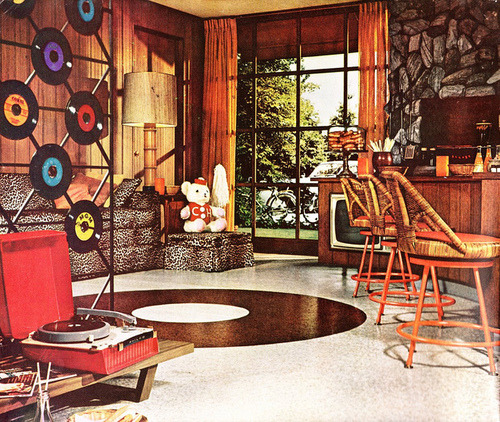 One swinging 1960s era pad