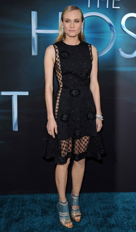 Diane Kruger wearing Thakoon FW13 to the LA premier of The Host.  Thakoon will be available in our Montecito location.