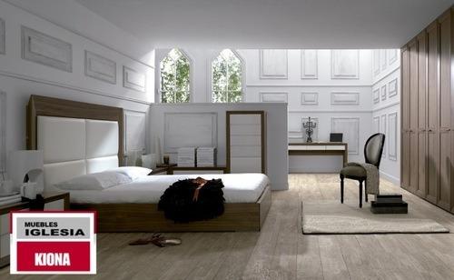 Dormitorio de matrimonio muebles iglesia tienda de for Muebles carre