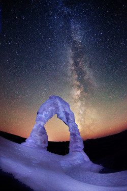 "x-enial:  Delicate Arch by Royce Bair (""Star Shooter"")"