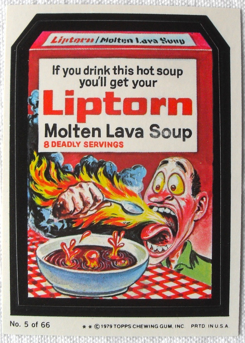 retrogasm:  Wacky Packages