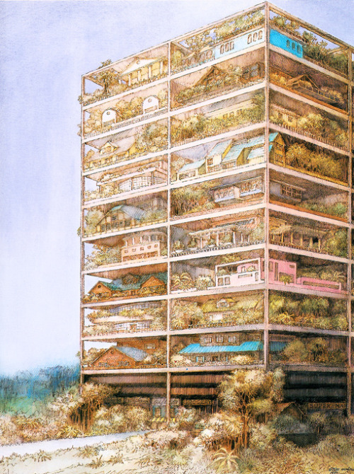 Site Architecture, Highrise of Homes, 1981
