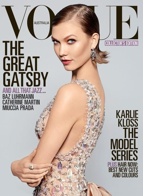 Vogue Australia, May 2013, cover (+) photographer: Arthur Elgort Karlie Kloss