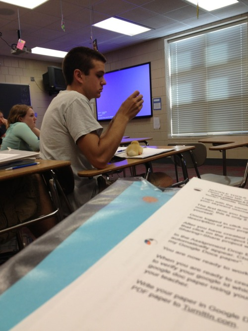 perterters:  teenytigress:  SO THIS GUY IN MY ENGLISH IS DOING A PROJECT FOR BIO WHERE HE GETS A DUCKLING TO IMPRINT ON HIM SO HE JUST CARRIES IT AROUND WITH HIM TO ALL OF HIS CLASSES AND I SWEAR THIS DUCK IS THE MOST WELL BEHAVED FUCKING POULTRY IVE EVER SEEN IT JUST SITS ON HIS DESK QUIETLY AND SOMETIMES HE PUTS IT IN HIS POCKET AND IT JUST SLEEPS LIKE WOW YOU GO DUCKY  HE HAS A TINY DUCKIE.