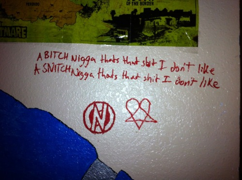 teenage-time-killer:  A wall in my room lol  im a good doodler.