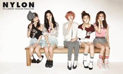 4Minute - NYLON Magazine Photos (1)