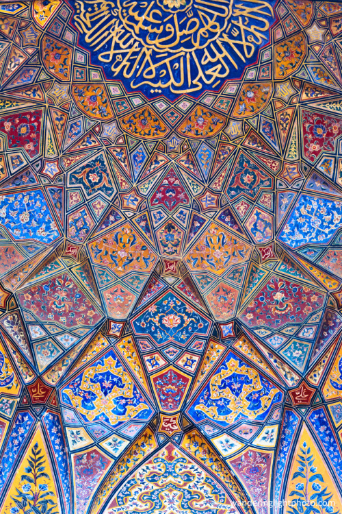artemis444:  Calligraphy and Islamic Tilework at Wazir Khan Mosque in Lahore, Pakistan