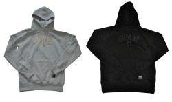 Our new Varsity pullover hoodies are now up online. Heather/Grey & Black/Black. Very limited quantities.Free UK shipping.Free stickers with every order.http://www.nvmbrstreetwear.com/shop