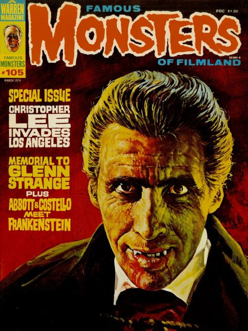 beautyandterrordance:  Famous Monsters of Filmland #105