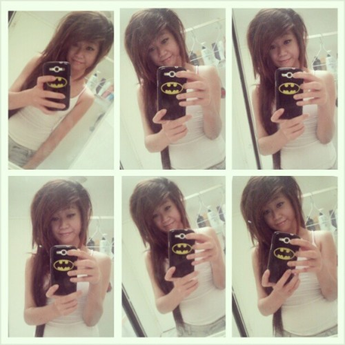 goodbye browny hair -,-