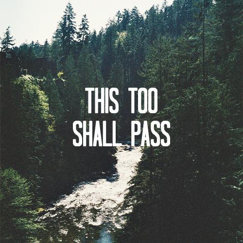 stewardssons:   ♛  This Too Shall Pass: A calming, acoustic centered playlist for those late night study sessions and when you need a little break from the world. Intended for finals week and afternoon naps and rainy mornings. Featuring The Oh Hellos, Good Old War & Passenger. {click crown for link to 8tracks}