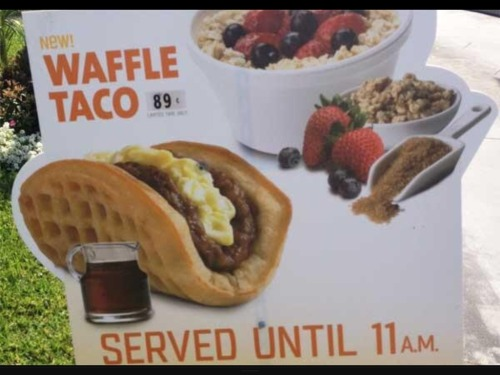 weallheartonedirection:  Taco Bell is testing a breakfast Taco, RIP every other restaurant  'Murica