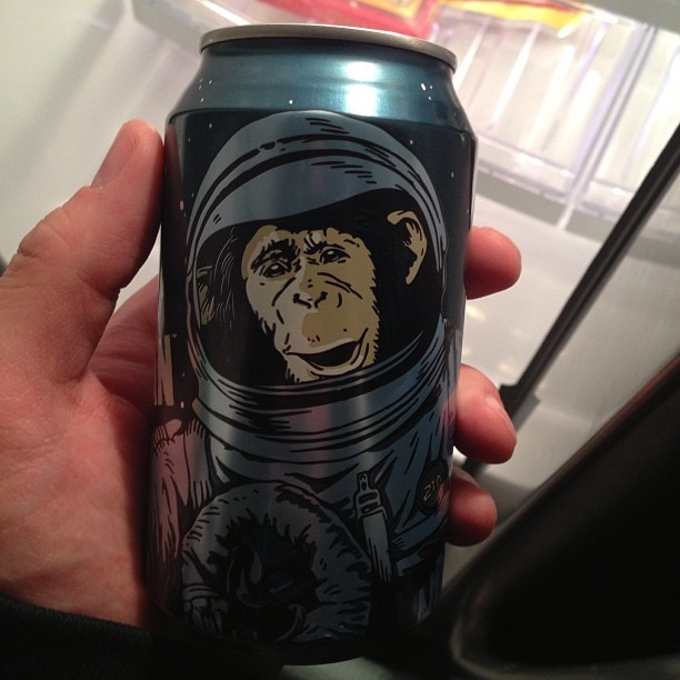 When in doubt, pick the beer with the space monkey on it.