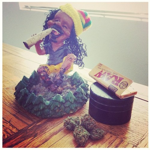 'Ey mon! Lets burn one! #budlove #IBUDJAMAICA #ibudpot #bud #weed #joint Danks @delicioushigh!! #high #herb #ganjaman