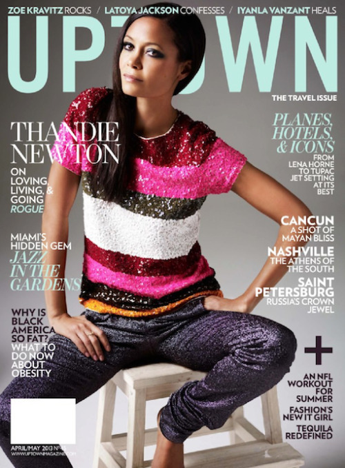 Thandie Newton for Uptown Magazine