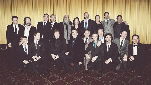 The Hobbit Cast & Crew - New York premiere on December 6, 2012