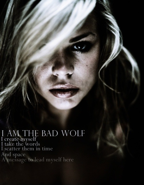 wolfdancer:  Bad Wolf.