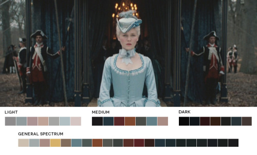 moviesincolor:  Female Directors Week - Sofia CoppolaMarie Antoinette, 2006Cinematography: Lance Acord