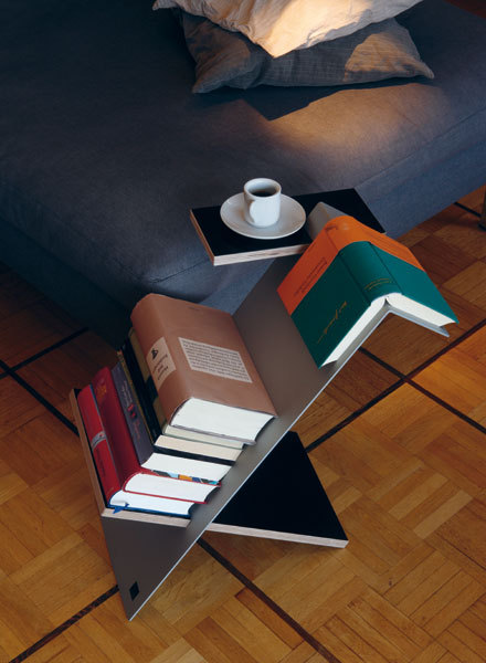 bookpatrol:  Side table by Nils Holger Moormann