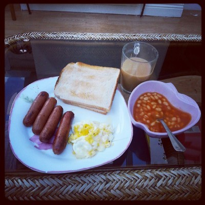 Breakfaaaast at Lunch time but oh well :)