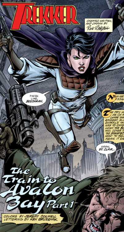 "Today— the first brand-new, all-new Trekker tale begins posting! Climb on board ""The Train to Avalon Bay""!"