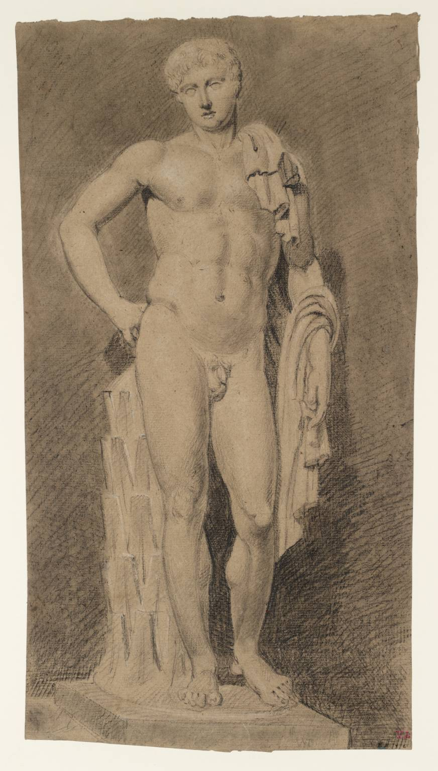 Joseph Mallord William Turner  (1775‑1851) Study of the Belvedere Hermes