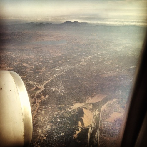 Arriving LAX via my Instagram