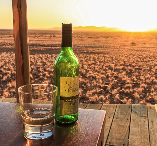 Namibia White Wine Lauren Mowery was drink enough to drink from Kristall Kellerei …. blessed are some …