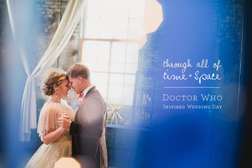 Whovians! Check out this Doctor Who-inspired wedding photo shoot at this link ;-)