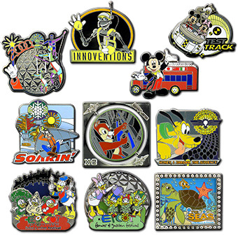 Epcot 30th Reveal/Conceal Pins coming in February…I need them all basically :X