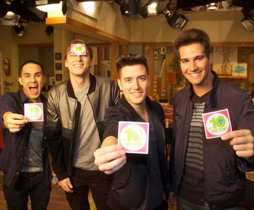 We've got @1LoganHenderson @HeffronDrive @TheCarlosPena + @jamesmaslow Sat 3/9 @ 12:30/11:30C on @10onTop on @mtv!