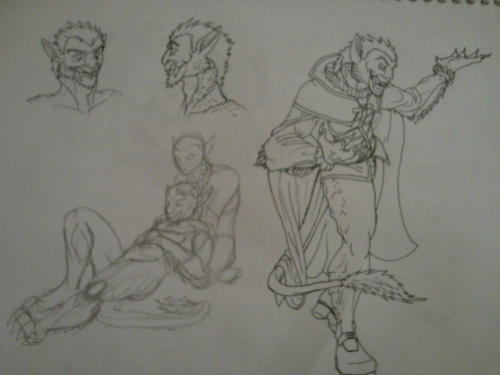 So I did some sketchings Dunno what I should tag them as, if anything Look at that fucking leg jesus christ it's a hoof and the angle of the camera didn't help  I need to draw more, and that means more snuggles/forced snuggles/happy fun time evisceration