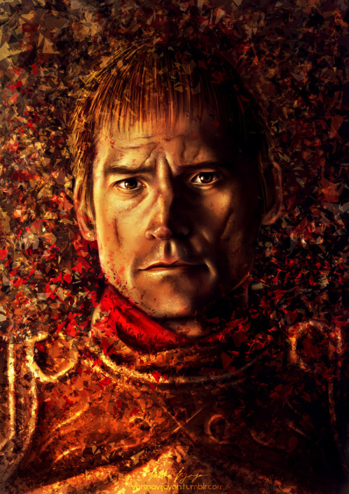 gameofthrones:  Jamie Lannister Digital Painting. Entire Portrait Series
