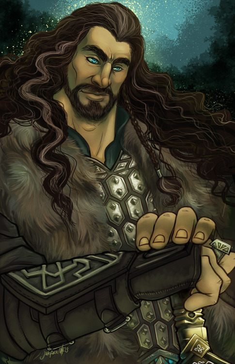 ereborbound:  Thorin Smokenshield by ~jakface