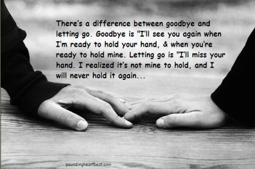The difference between goodbye and letting go  Follow best love quotes for more great quotes!