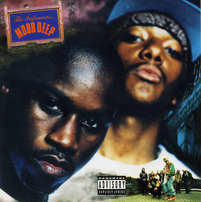 "upnorthtrips:  BACK IN THE DAY |4/25/95| Mobb Deep released their second album, The Infamous, on Loud Records.  This is the first tape ""with the sticker"" that I bought with my own money and didn't have to steal or borrow…shoutout to Peppermint Music at South Dekalb for selling to minors."